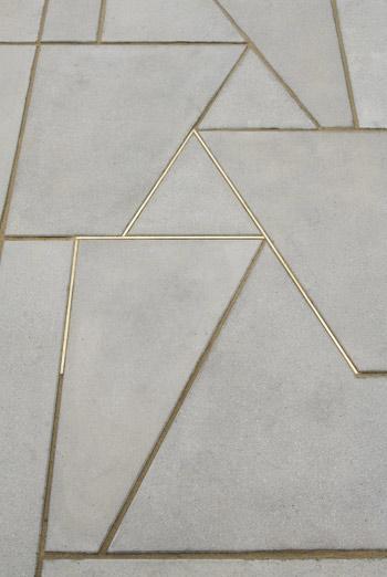 Marble Inlay Floor Gold : Skulptur projekte münster martin boyce